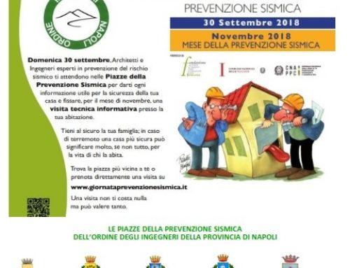 DOMANI GIORNATA DELLA PREVENZIONE SISMICA – ISOLA D'ISCHIA